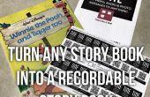 Transformez n'importe quel livre en un livre d'histoire enregistrable - (avec vidéo)