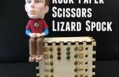Pierre papier ciseaux lézard Spock Desk Toy