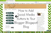 Comment ajouter des boutons de médias sociaux à votre Blog Blogger (Blogspot)