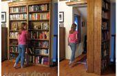Bibliothèque porte secrète