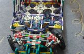 Knex grand voiture avec suspension