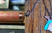 Tuyau de cuivre en collier