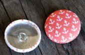 Comment faire des boutons de tissu