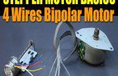Stepper Motor Basics - moteur bipolaire 4 fils