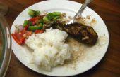 La nourriture arabe 101 - [Tashreeb Dijaj] - farine de poulet