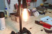 Lampe tube Punk à vapeur