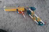 Simple K-nex pistolet avec gâchette tire 20 + ft
