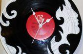 Comment faire une horloge d'enregistrement vinyle Custom