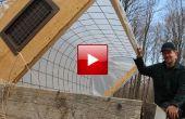 Chassis de froid maison bricolage cerceau pour faire du jardinage