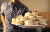 Macarons pistache | Josh Pan