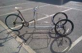 Échec : un vélo complet de fret 3-roues inclinable