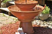 Terre cuite fontaine