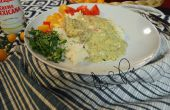 Tomatillo, coriandre, cuisses de poulet mexicain de Crema