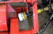 Installation de bouclier/protection du cardan tracteur
