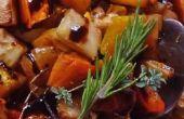 Norvégienne au miel légumes racines