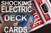 330 Volts « Shocking » Electric jeu de cartes !  -(Electric Shock Kissing Prank)