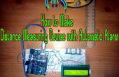 Dispositif d'alarme automatique de mesure de distance