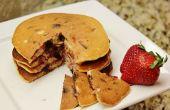 Fraise chocolat puce crêpes (sans gluten)