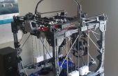 Comment faire pour créer une grande imprimante 3D à l'aide d'une plus petite imprimante 3D - « Projet Locus »