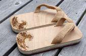 Geta moderne - sandales en bois