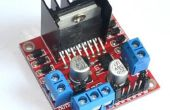 Moteurs DC contrôle et stepper avec L298N double moteur contrôleur de Modules et Arduino