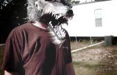 Comment faire un masque de loup garou