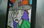 Illusion d'optique Halloween Coloriage activité
