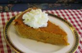 Bourbon Sour Cream Pumpkin Pie