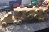 En bois Toy Hauler *** mise à jour avec le gabarit PDF ***