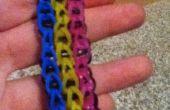 Triple unique Rainbow/Cra-Z-métier à tisser Bracelet