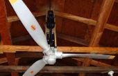 Ventilateur de plafond Airplane hélice