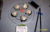 Comment faire des sushis!!! Style de Maki (roulé sushi)