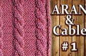 Comment tricoter un câble de Six-Stitch