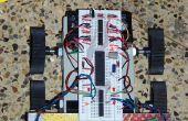 4WD pas cher objet Robot en évitant l'utilisation de quatre capteurs de proximité IR...