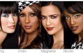Choix de maquillage pour Skintones multiculturelle
