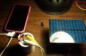 Chargeur de téléphone solaire DIY