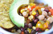 Comment faire Vegan trois haricot Chili