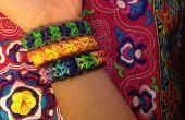 Comment faire bracelet arc-en-ciel Loom mât totémique