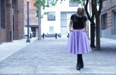 Cercle de Midi bricolage jupe avec poches : aucune tendance !