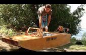 Contreplaqué bateau électrique