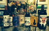 ÉTIQUETTES de bouteille PARTY HALLOWEEN