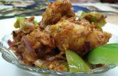 Chou-fleur croustillant frit d'air