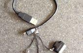4-en-1 mini • micro • foudre • connecteur 30 broches Câble USB
