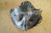 Masque brut tranchant en fibre de carbone