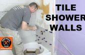 Comment faire pour revêtir un mur de douche... ET couper les carreaux comme un Pro !