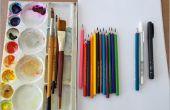 3D dessins au crayon : Comment faire l'esquisse 3D de Omelette Amazing