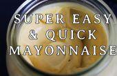 Super rapide et facile de Mayonnaise