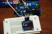 Voltmètre OLED Arduino