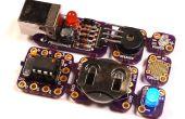Tacuino : une faible coût, modulaire, compatible Arduino plate-forme éducative
