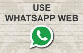 Comment utiliser Whatsapp web sur pc